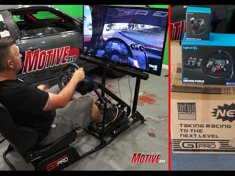 Budget Console Car Racing Simulator - Motive Garage