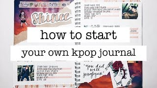 Download Video how to start a kpop journal +  journal supplies + journal with me | finessejournal MP3 3GP MP4