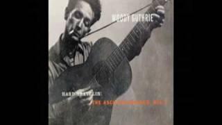Railroad Blues - Woody Guthrie