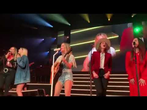 Maren Morris, Miranda Lambert, Brandi Carlile, Natalie Hemby, And Cassadee Pope Sing My Church At T