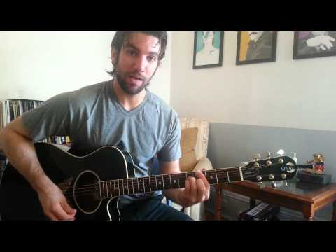 Miguel - How Many Drinks? (Guitar Chords & Lesson) by Shawn Parrotte