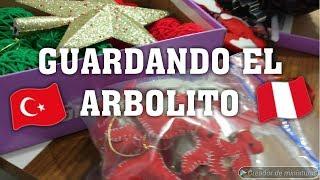VLOG #69 GUARDANDO MI ARBOLITO DE NAVIDAD /PERUANA VIVIENDO EN TURQUIA