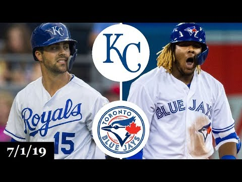 Kansas City Royals vs Toronto Blue Jays Highlights | July 1, 2019