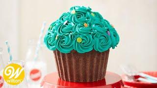 How To Make A Giant Cupcake Cake