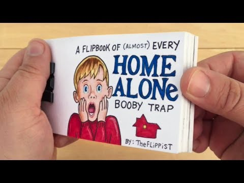 Home Alone Flipbook: Every Booby Trap Compilation (OC)