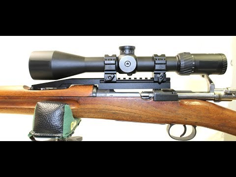 Mauser 98K NDT (No Drill-Tap) Scout Mount - for Long Eye