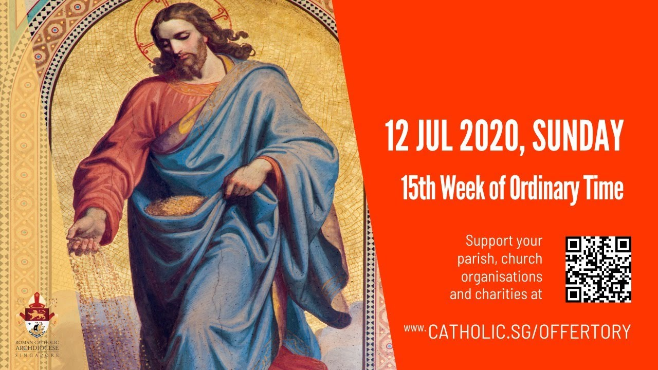 Catholic Sunday Mass 12th July 2020 Live From Archdiocese of Singapore