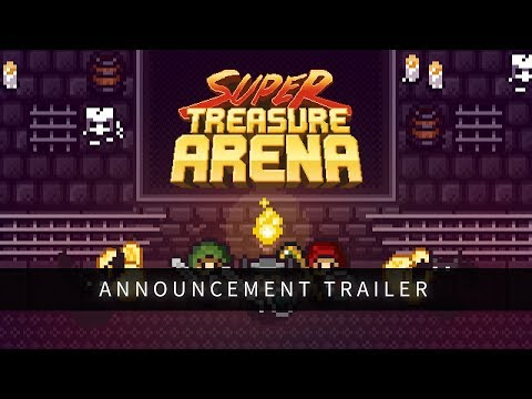 Super Treasure Arena - Switch Announcement Trailer (ESRB) thumbnail