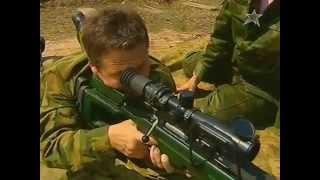 Смотреть онлайн Снайперская винтовка Драгунова СВД и СВ 98