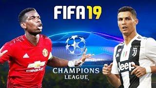 FIFA 19   แมนยู VS ยูเวนตุส   ยูฟ่า แชมเปี้ยนส์ ลีก 2018-19   23/10/2018