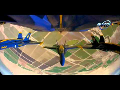 ( High Quality ) Blue Angels - With STUCK ON STUPID ( Fly High )
