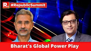 EAM S Jaishankar Speaks On 'Bharat's Global Power Play' At Republic Summit With Arnab Goswami