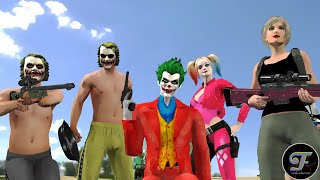 JOKER SQUAD FULL VERSION Noob and Girls | PUBG Animation