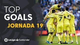 Todos los goles de la Jornada 19 de LaLiga Santander 2019/2020