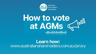 How to vote at AGMs | How to fill out a voting proxy form