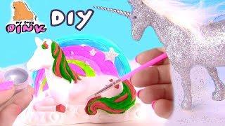 НОВОГОДНИЙ ЕДИНОРОГ! CHRISTMAS UNICORN DIY! Поделка Своими Руками! Coloring for kids