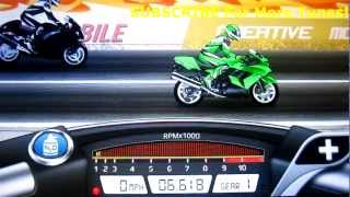 Drag Racing Bike Edition: How To Tune A Level 10 Ninja 1400 6.617s 1/4 mile!