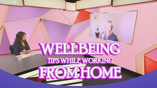 Elizabeth O'Riordan Wellbeing Expert on Elaine Show Virgin Media TV