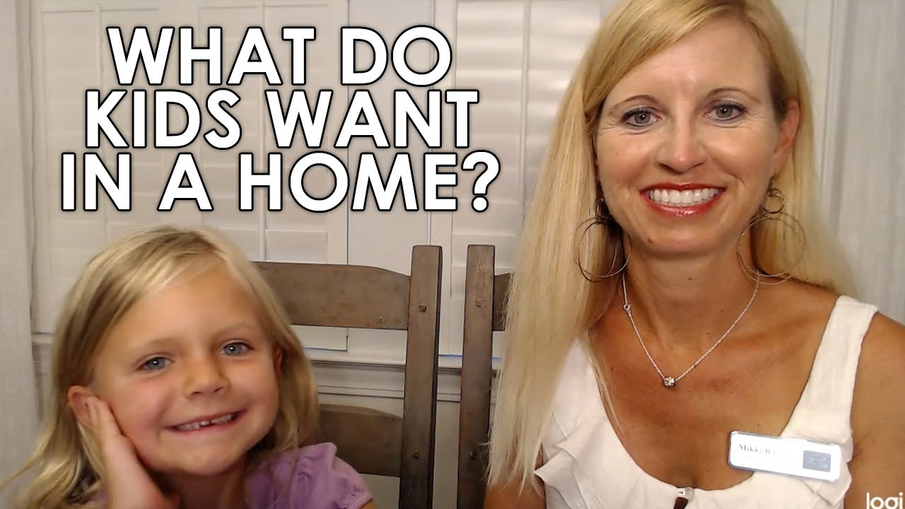 "Top 3 Kid ""Must-Haves"" in a New Home"