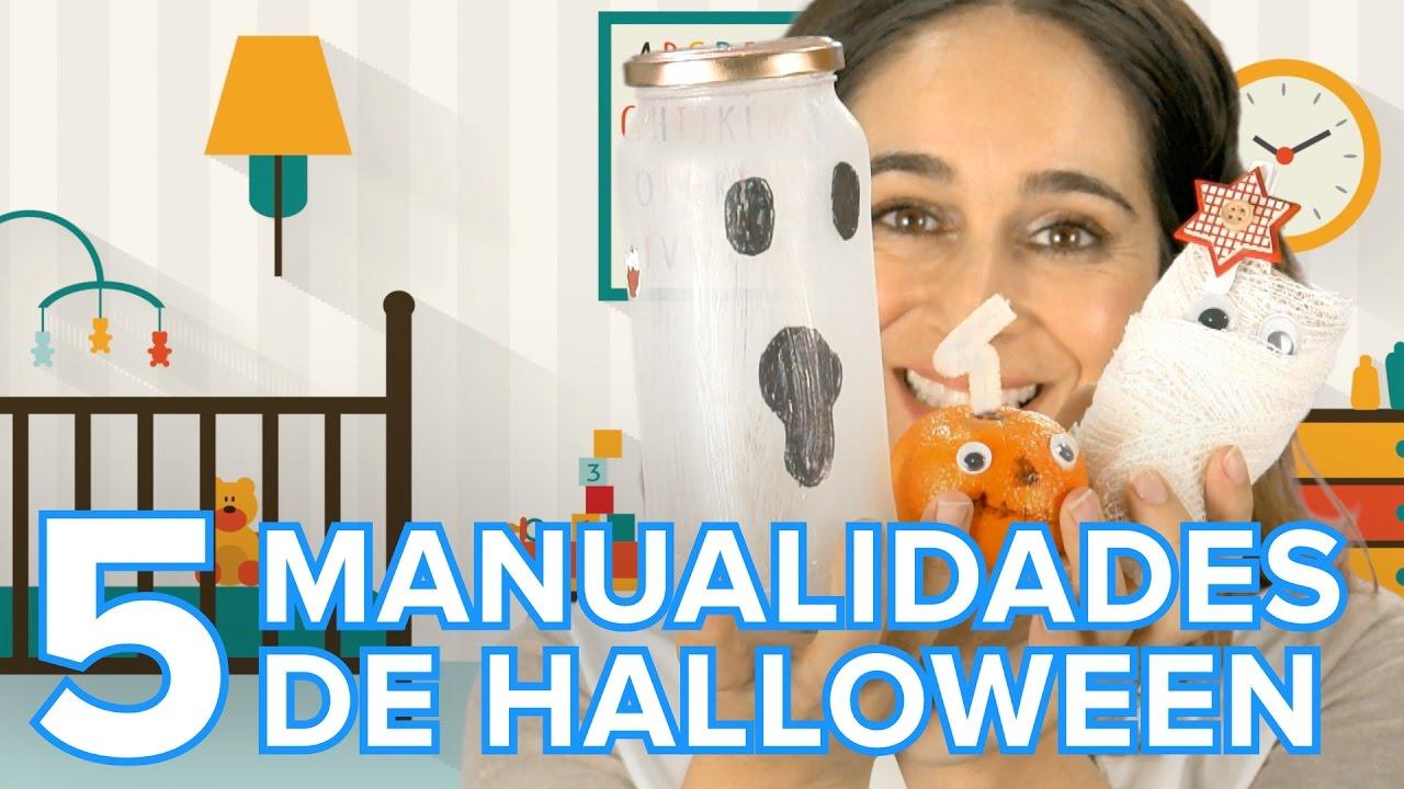 Manualidades de Halloween express para decorar la casa con los niños
