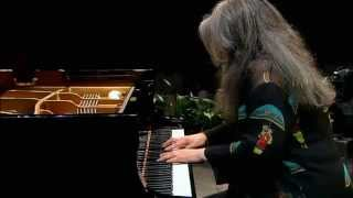 Johann Sebastian Bach - Piano Partita No. 2 In C Minor, BWV 826 - Martha Argerich