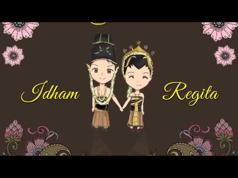 Video Undangan Pernikahan Unik Wayang Jawa : Di One-DG16