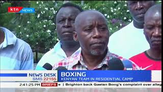 Kenyan boxing teams start the residential camp