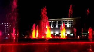 Поющий фонтан в г. Чайковский. Vanessa Mae - Storm [25.08.2017]
