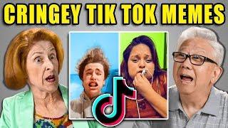 Elders React to Ironic Tik Tok Trolls Memes (Cringe Compilation)