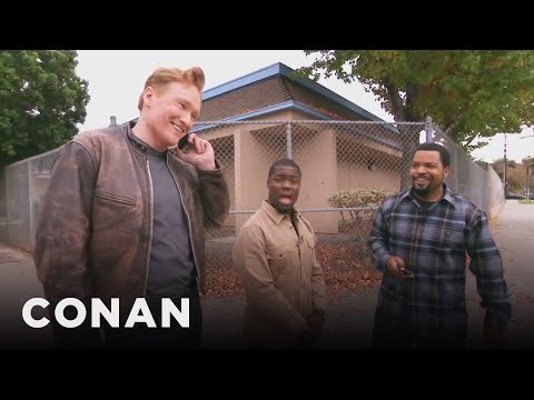 Ice Cube, Kevin Hart, And Conan Share A Lyft Car (видео)