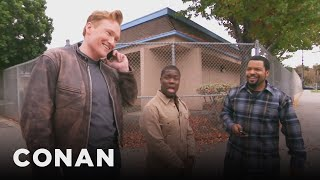 Ice Cube, Kevin Hart, And Conan Share A Lyft Car - dooclip.me