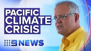 Tears shed at Pacific Islands Forum over Australia's climate change efforts | Nine News Australia