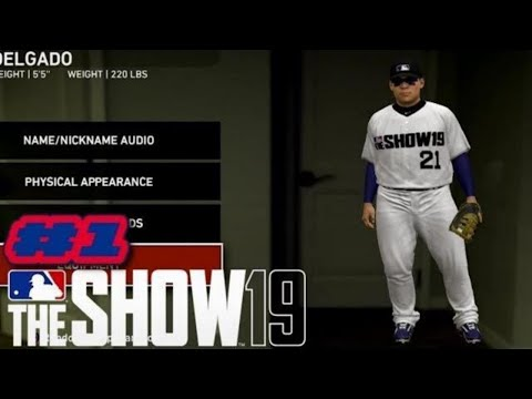 MLB The Show 19 PS4 Road to the Show Ep.1 (ROOKIE SHOWCASE)