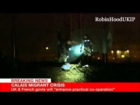 2 200 migrants ont envahi le site d'Eurotunnel la nuit dernière (Màj vidéo)