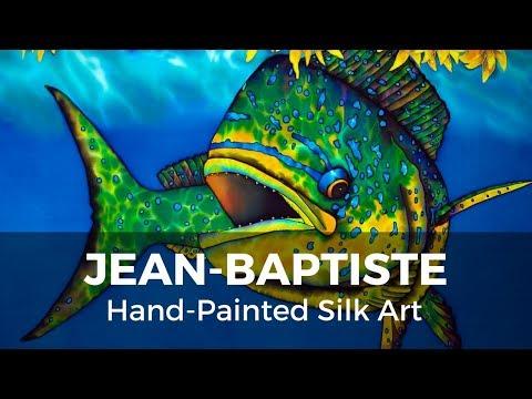 BASIC BATIK SILK PAINTING TECHNIQUES OF JEAN BAPTISTE