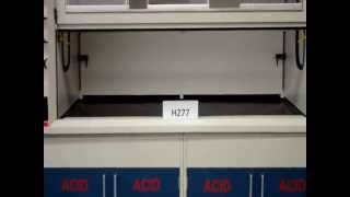 6′ Fisher Hamilton Safeaire Laboratory Fume Hood (H277)