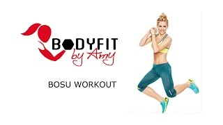 25 Minute Full Body BOSU Workout! by BodyFit By Amy