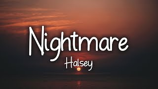Halsey   Nightmare (Clean   Lyrics)