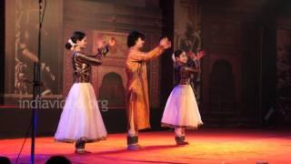 Dancers from Birju Maharaj Parampara performing Kathak