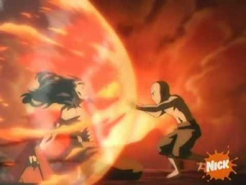 *Good Quality Clip* The Final Battle- Avatar Vs Fire Lord Ozai