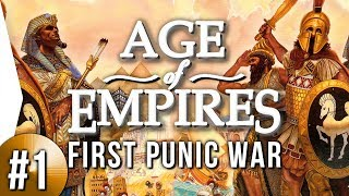 Age of Empires 1 HD ► #1 First Punic War: Struggle for Sicily - [Campaign Gameplay]