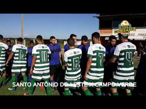 CAMPO VERDE X SANTO ANTONIO DO LESTE