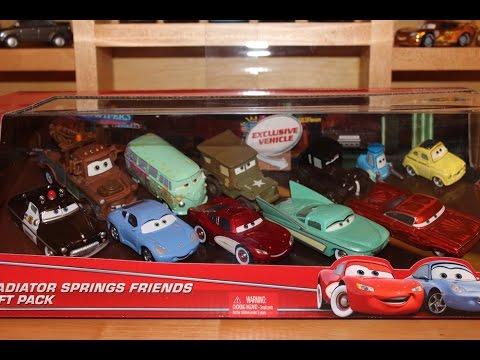 Mattel Disney Cars 2016 Lizzie with Radio Radiator Springs Friends Gift Pack Target Exclusive