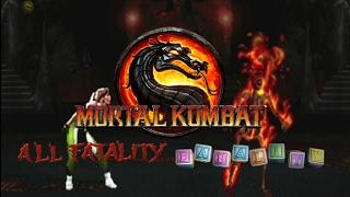 Mortal Kombat 3 - Полная демонстрация добиваний [Arcade]