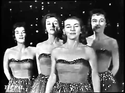 The Chordettes - Mr. Sandman (Live 1958)