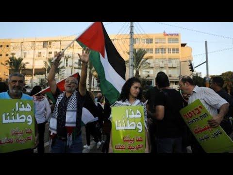 العرب اليوم - شاهد:آلاف المتظاهرين في تل أبيب احتجاجا على