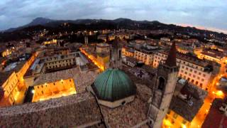 preview picture of video 'Ascoli Piceno - Città delle 100 torri - AP Drones'