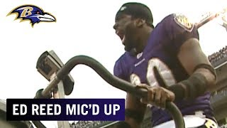 Ed Reed Mic'd Up vs. Falcons 'Come on Ref!' | Baltimore Ravens