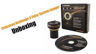 Celestron NexImage 5 Solar System Imager - Unboxing