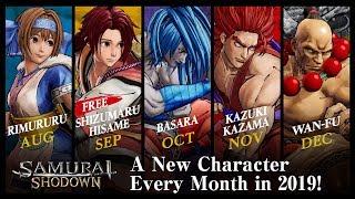 SAMURAI SHODOWN / SAMURAI SPIRITS – New DLC Characters